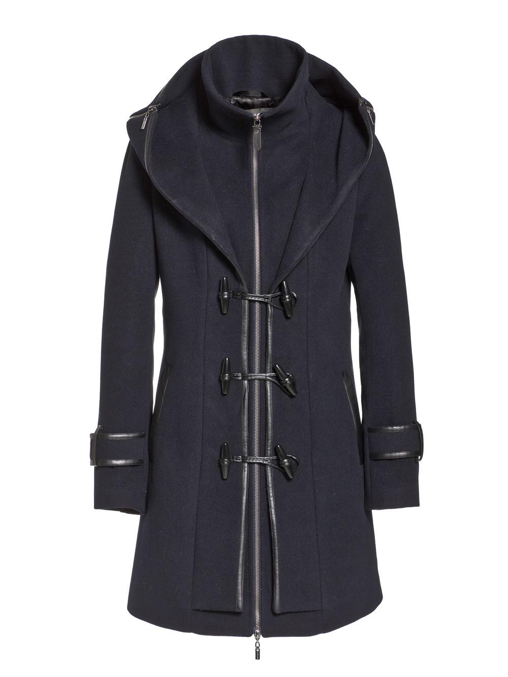 Beaumont Duffle coat i Navy