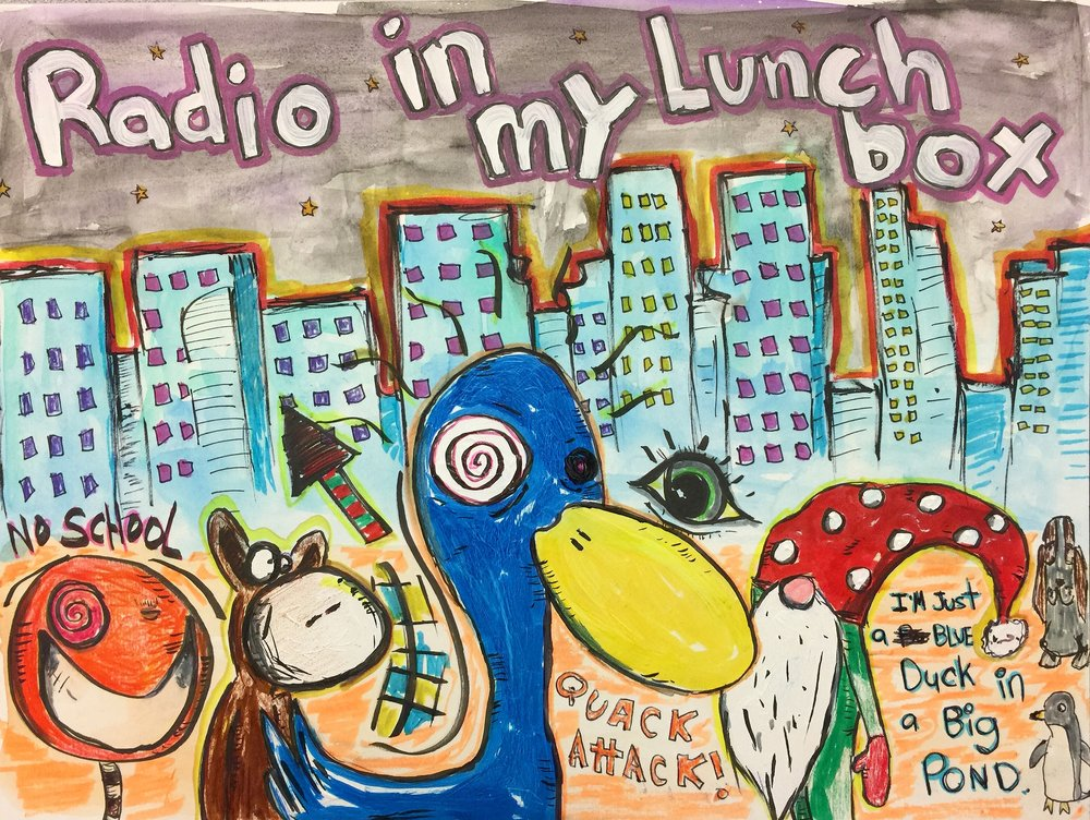 Radio in My Lunchbox