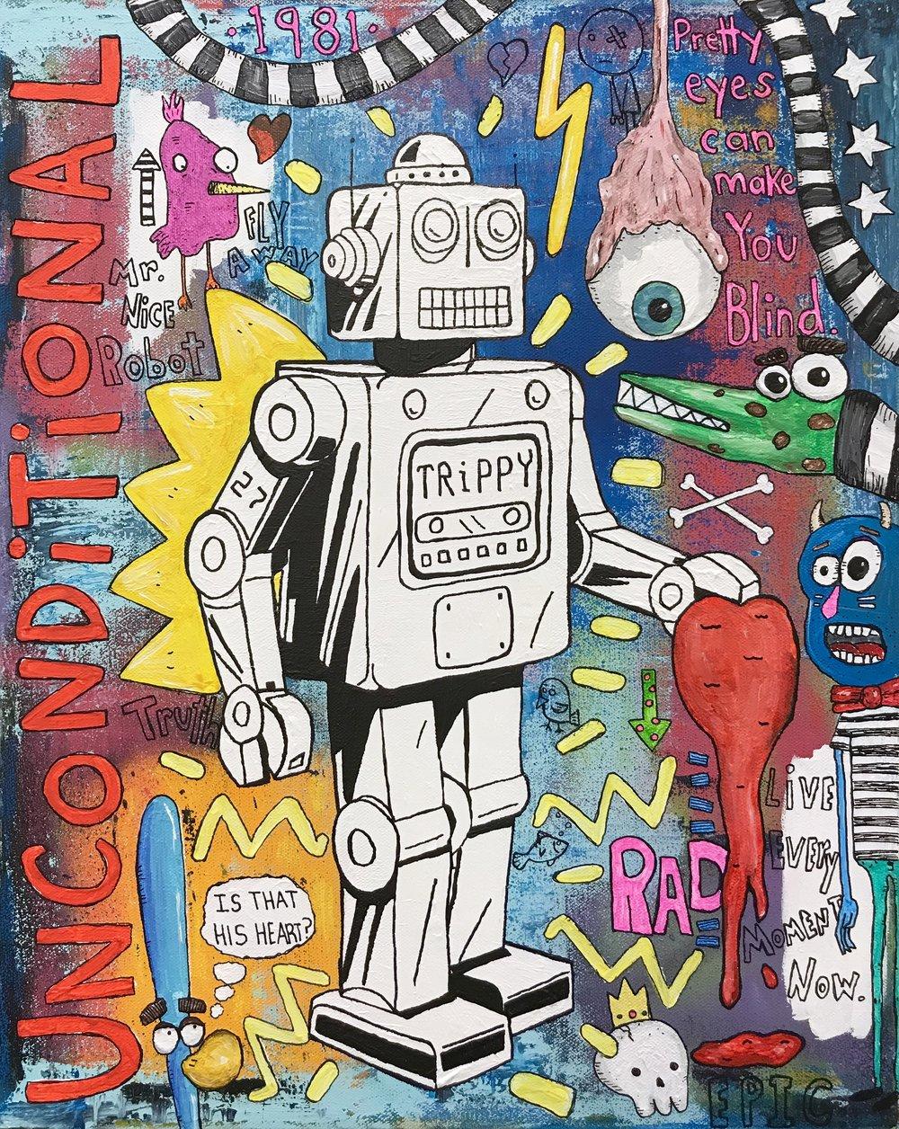 Trippy Robot