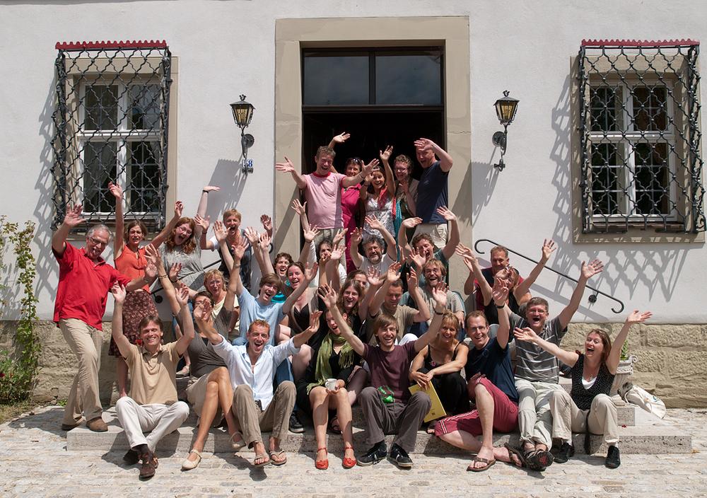 Groepsfoto slotkoor 2009 (1)