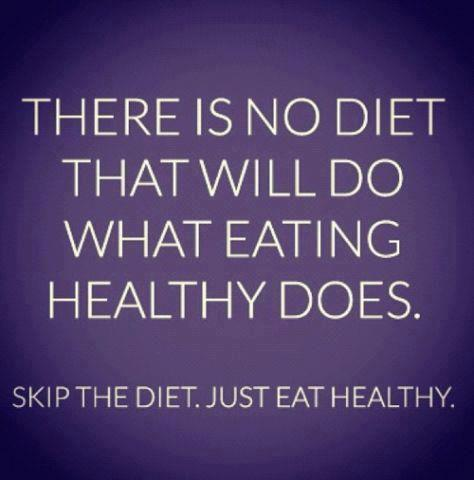 """So true! It's easy to overcomplicate the whole """"diet"""" thing. Then when it's complicated, it's easy to make excuses. When you make excuses you won't achieve you're goal and you'll feel defeated and frustrated. Eat whole/real foods that fuel your mind and body. When you feel good and look good you won't want to go back! Oh and be kind to yourself :)"""