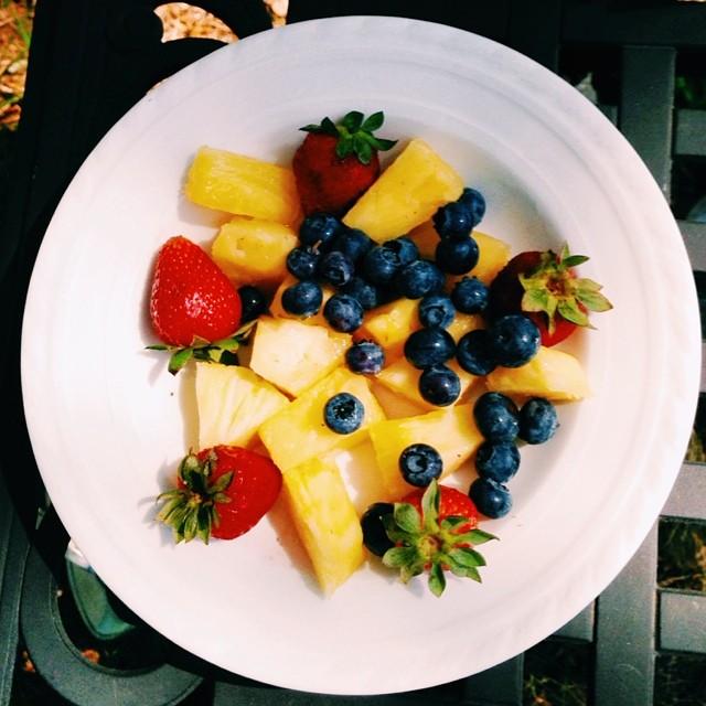 Lunch prepared by chef @mattytilden #pineforthe #eatrealfood (at Bev&Riles Estate )