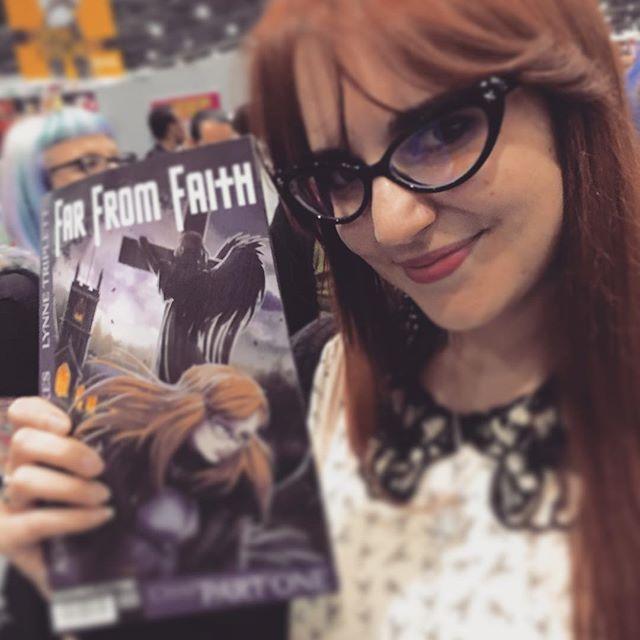 We met a Helen at #ComicCon! #FarFromFaith