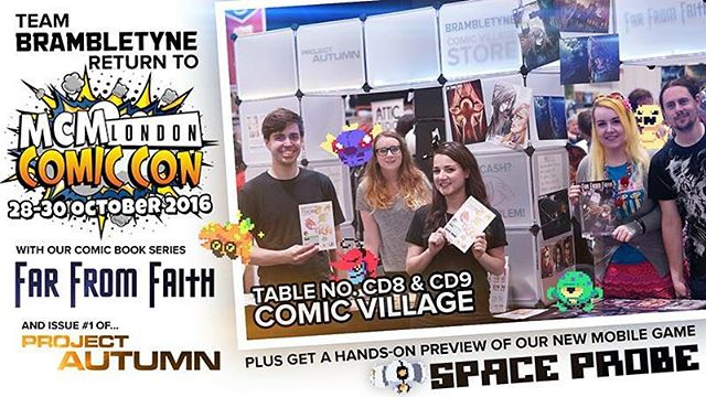 We're ready for #LondonComicCon #MCMLDN16