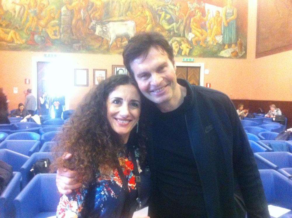 Cristina Campofreddo & Mario Furlan (Coach, Fondatore dei City Angels, Conferenza ICF Roma 2016)