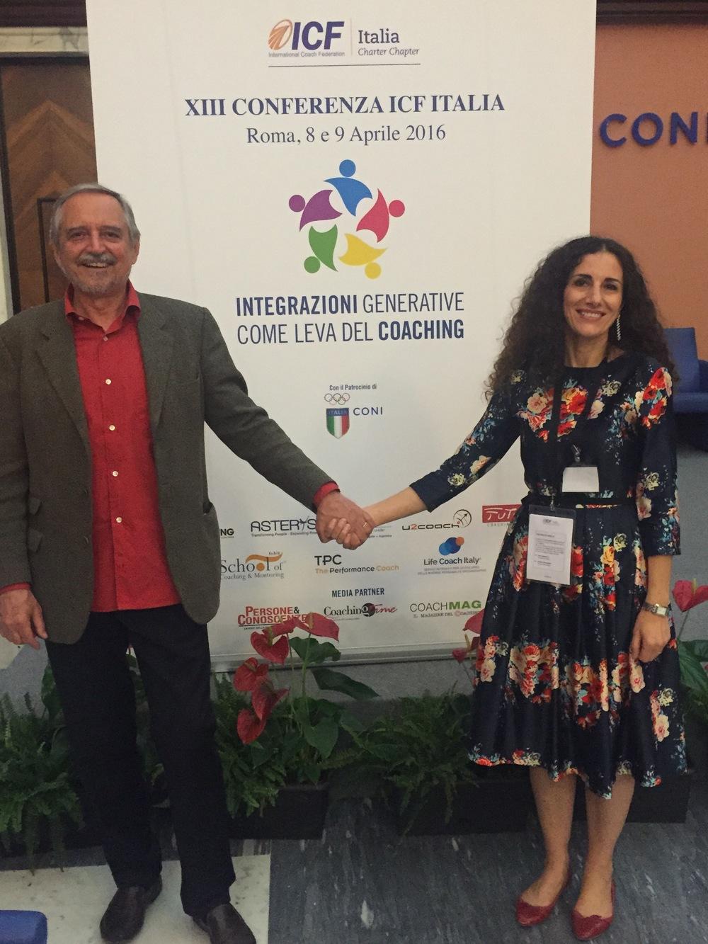 Cristina Campofreddo & Gianni Ferrario (Smile Trainer) - Conferenza ICF Roma 2016