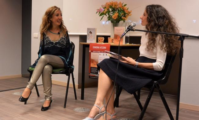 Cristina Campofreddo & Simona Atzori (ballerina, pittrice, scrittrice) - Festival Letteratura Femminile 2015