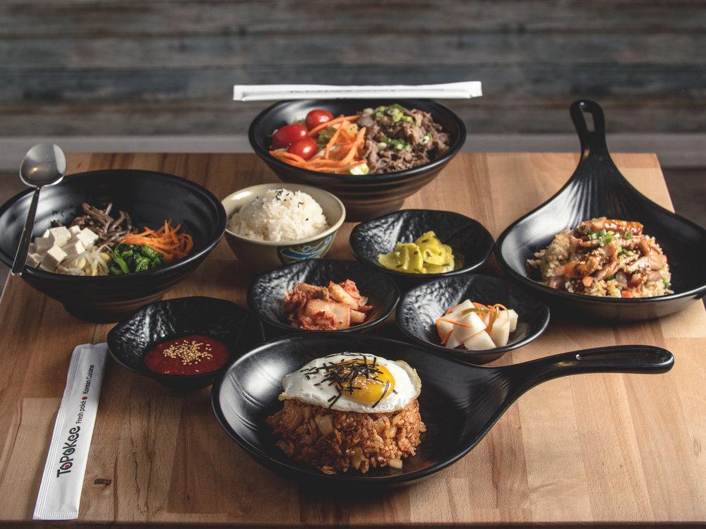 Topokee-Platterz-Kimchi-Fried-Rice-Spread