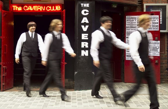 "Head to the Cavern Club to hear live music ""eight days a week."" (c) VisitBritain"