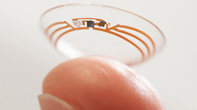 Bendable circuit technology will be available in a blink of an eye. Ba-boom-cha.