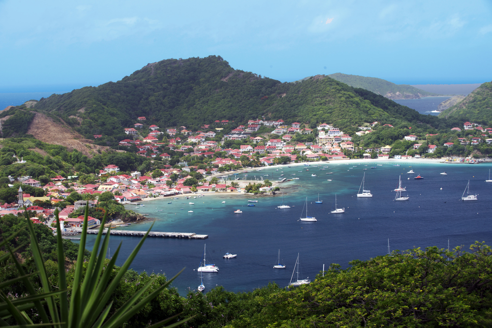 The view of Les Saintes Bay. Image courtesy of Guadeloupe Islands Tourist Board