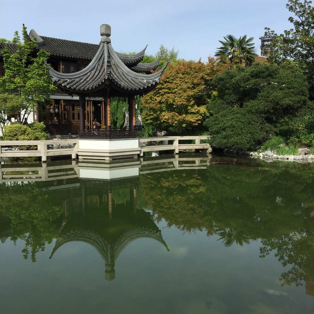 Lan Su Chinese Garden is an oasis in downtown Portland.