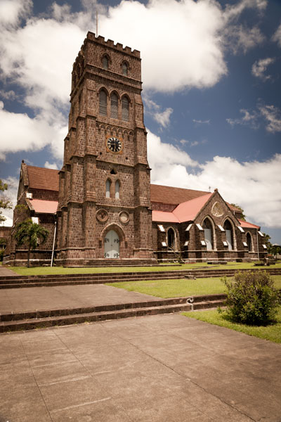 The Anglican faith is the most popular religion on St. Kitts and Nevis. Image courtesy of the St. Kitts Tourism Board.