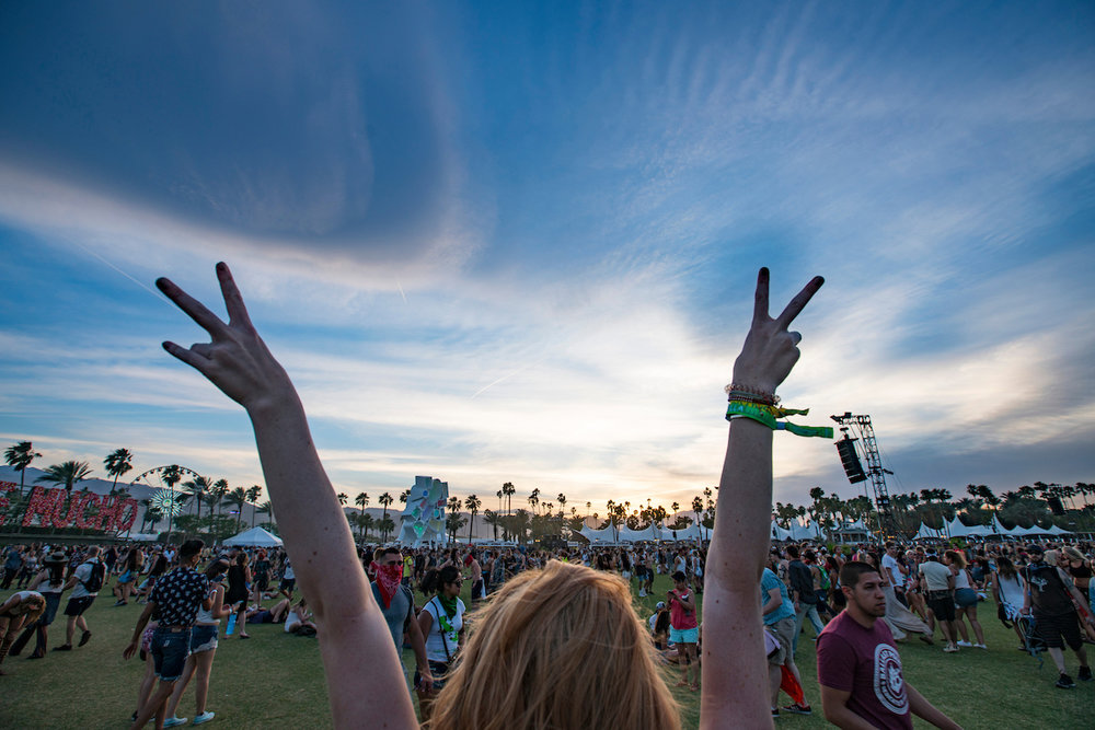 Coachella is SoCal's favorite annual music and arts festival. Image courtesy of Coachella.