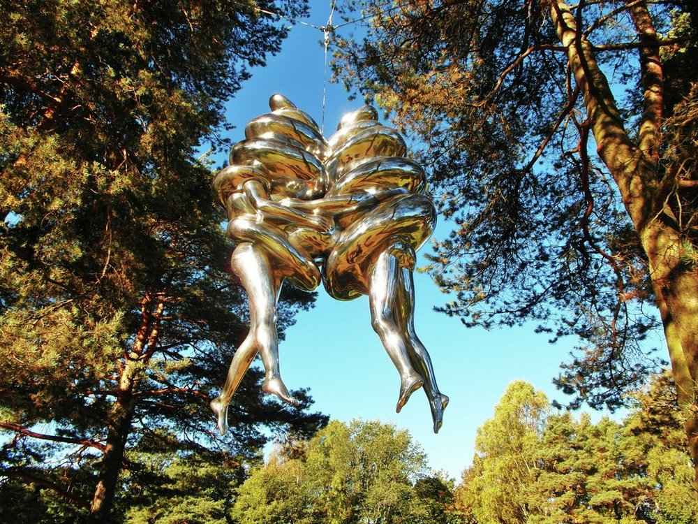 Louise Bourgeois - 'The Couple' 2003; Image courtesy of VisitOSLO/Tord Baklund ©Louise Bourgeois/BONO