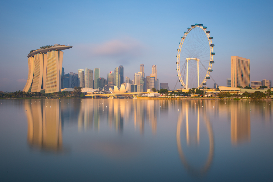 Singapore's skyline. Image Courtesy of the Singapore Tourism Board.