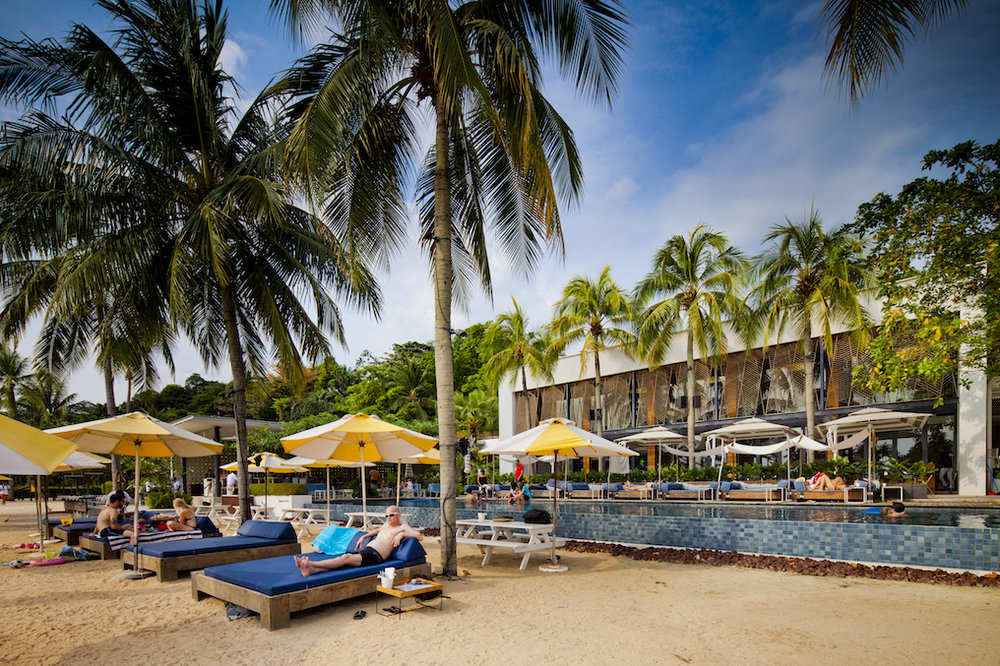 Tanjong Beach Club. Image Courtesy of the Singapore Tourism Board.