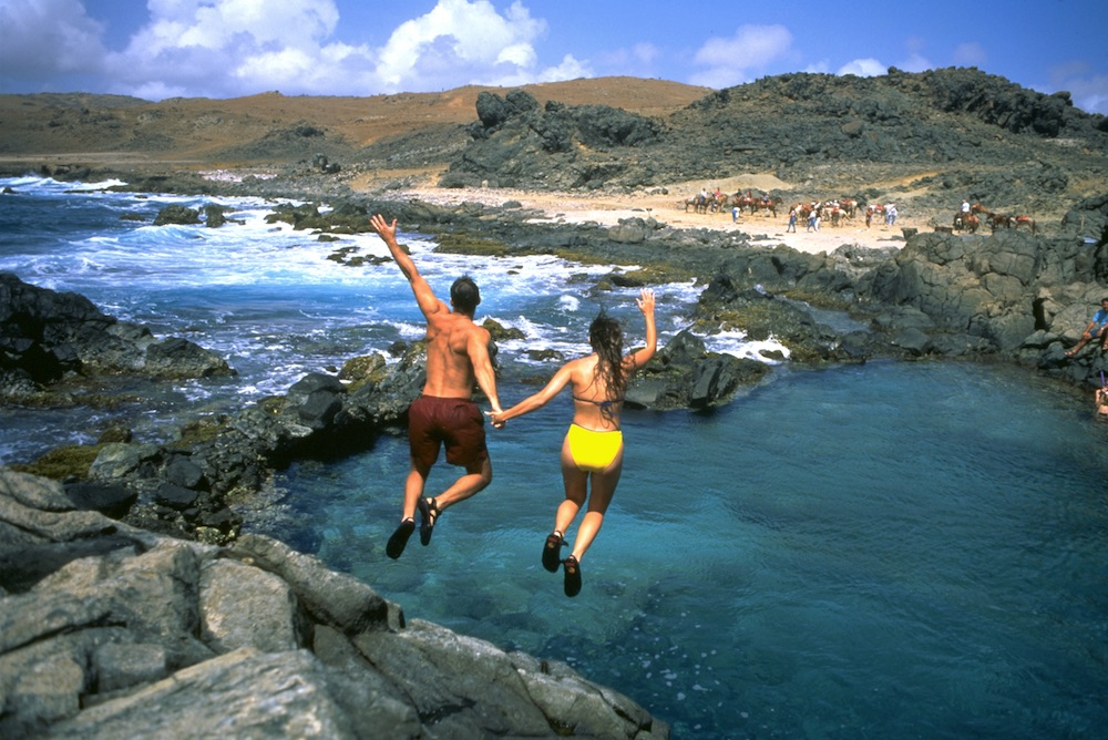 Arikok National Park accounts for approximately 18 percent of the Island. Image courtesy of the Aruba Tourism Authority.