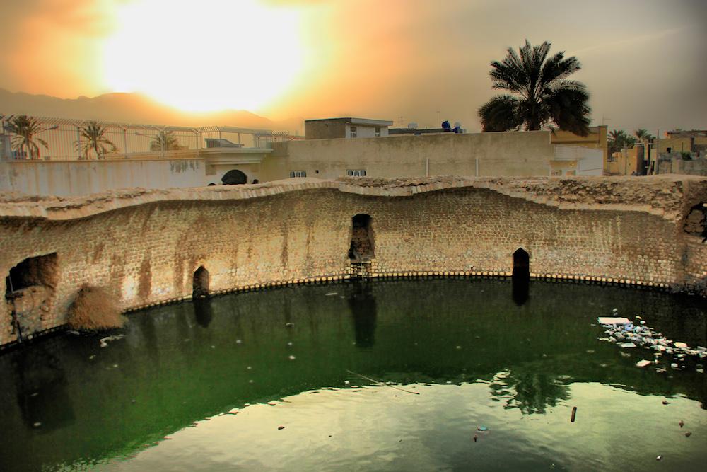 Berke Kaal in Gerash, Iran. Image courtesy of Abolhassan Hosseini.