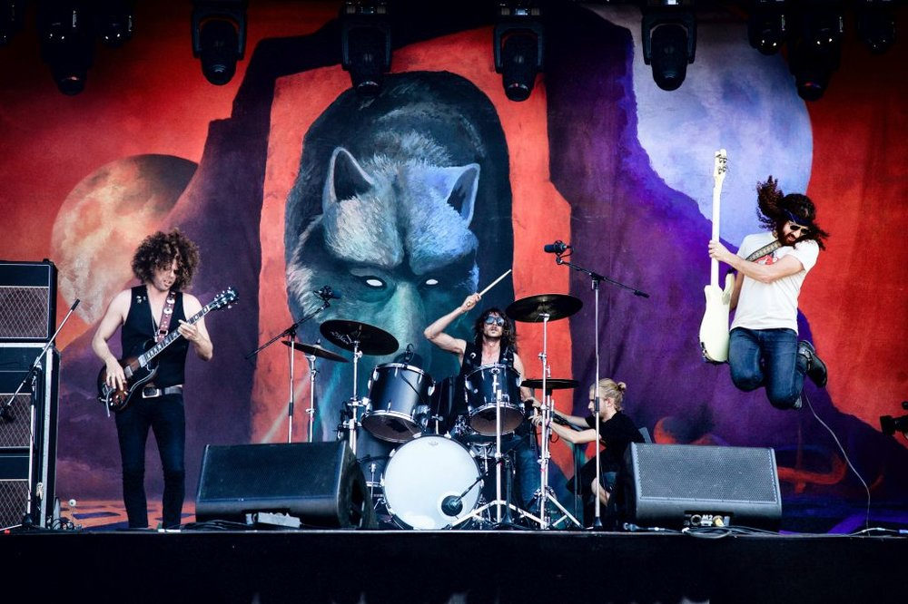 Wolfmother at the 2016 edition of Rock en Seine. Image courtesy of Rock en Seine.
