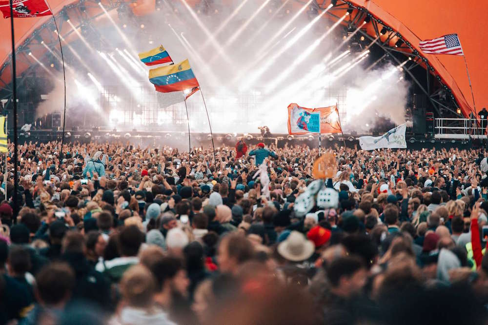 Roskilde Festival celebrates its 47th edition. Image courtesy of Krists Luhaers.