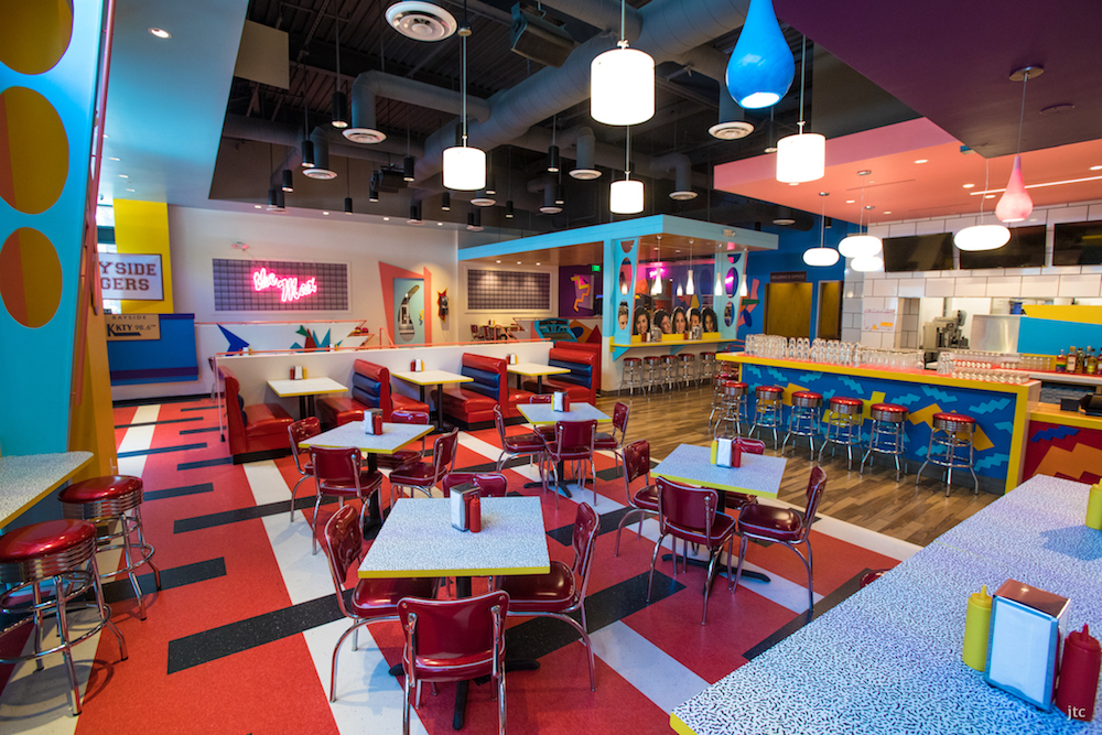 Saved by the Max is a full-scale replica of The Max restaurant as seen on 'Saved by the Bell.' Image courtesy of Tyler Curtis.