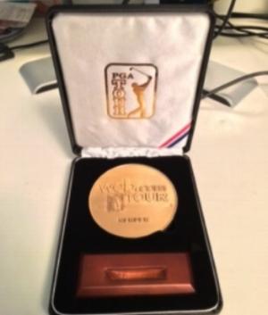 Brian Hughes Web.com Membership Medal