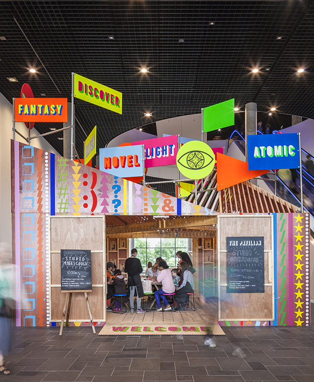 Discovery Pavilion, Morag Myerscough & Luke Morgan, photo Gareth Gardner, supergroup london, studio myerscough.jpg