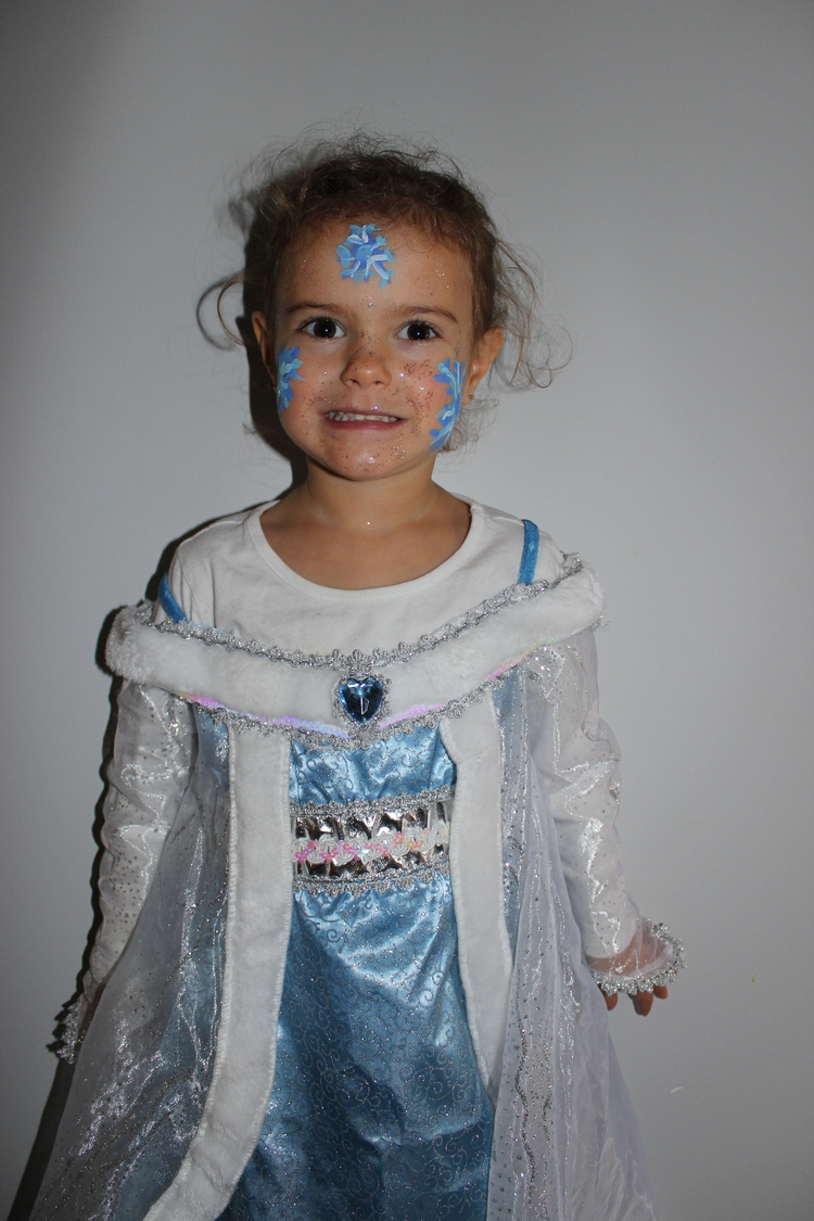 photo costume reine des neiges