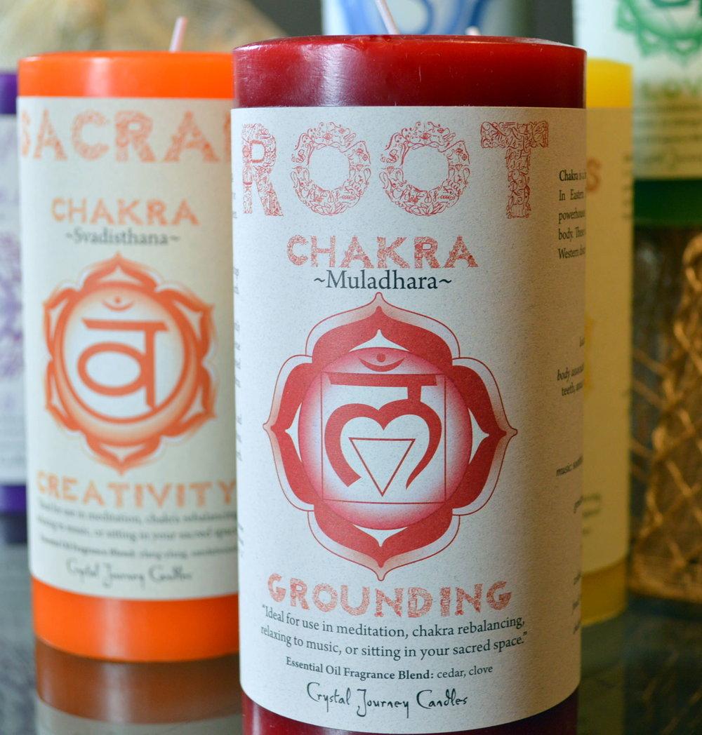 Chakra Candles