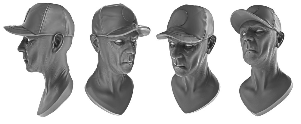 Head Practice Sculpt