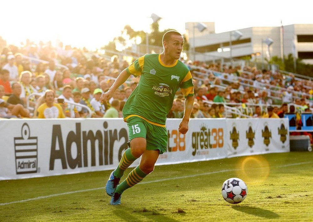 Tampa Bay forward Casey Townsend looking to make something happen against San Antonio Scorpions