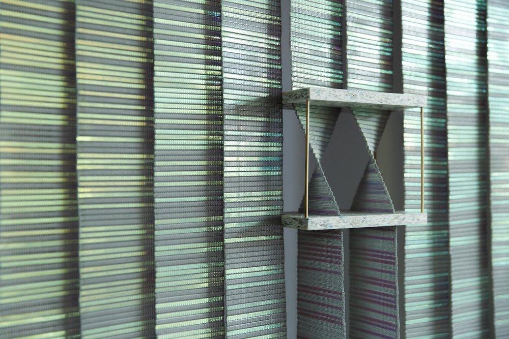 KUFtwist x saatchi gallery commissioned / portrait / craft