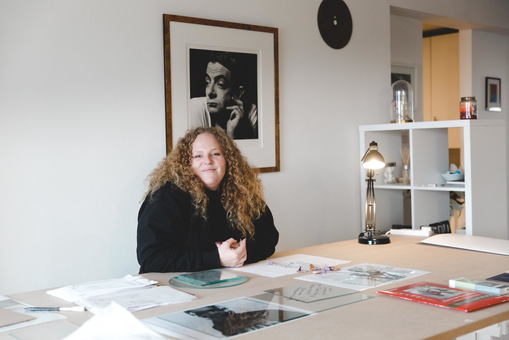 Olivia Rose x g-irl   portrait, interior, editorial