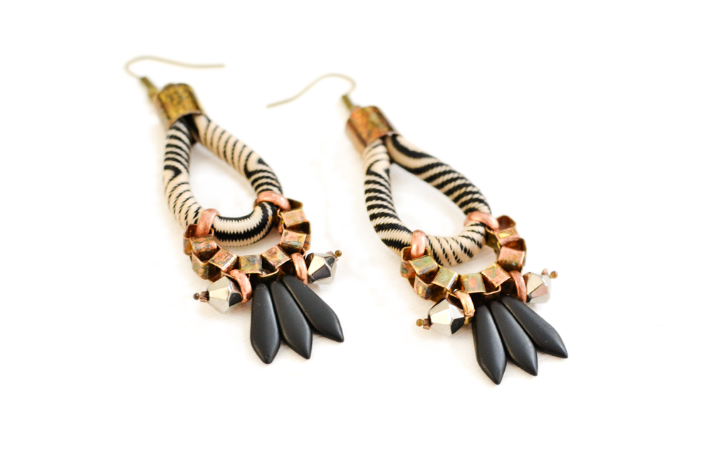 gudbling tribal earrings