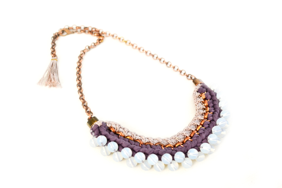 gudbling beaded necklace