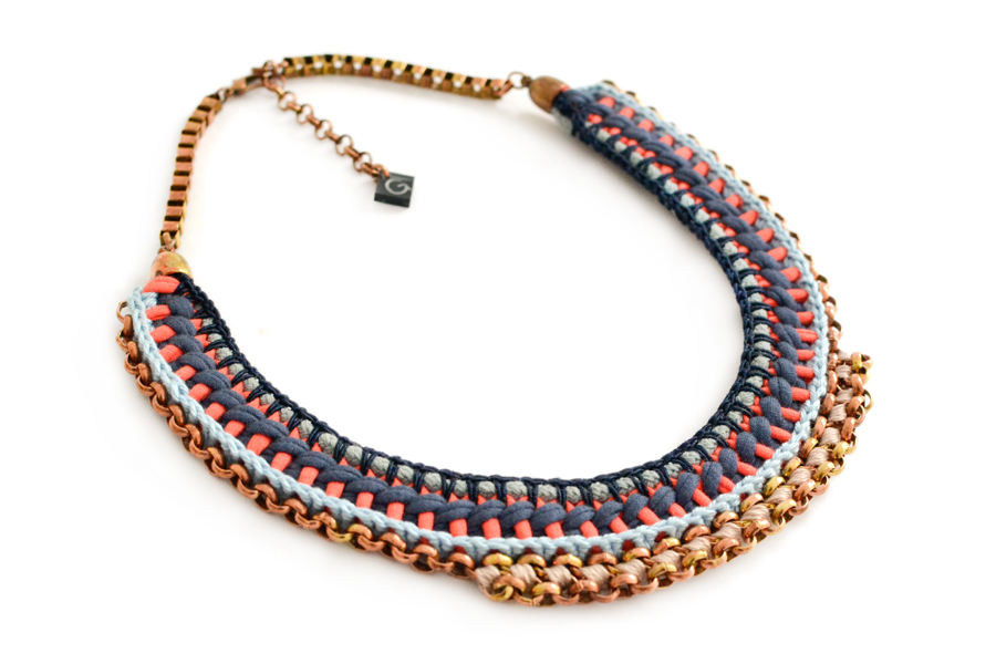 gudbling crochet necklace