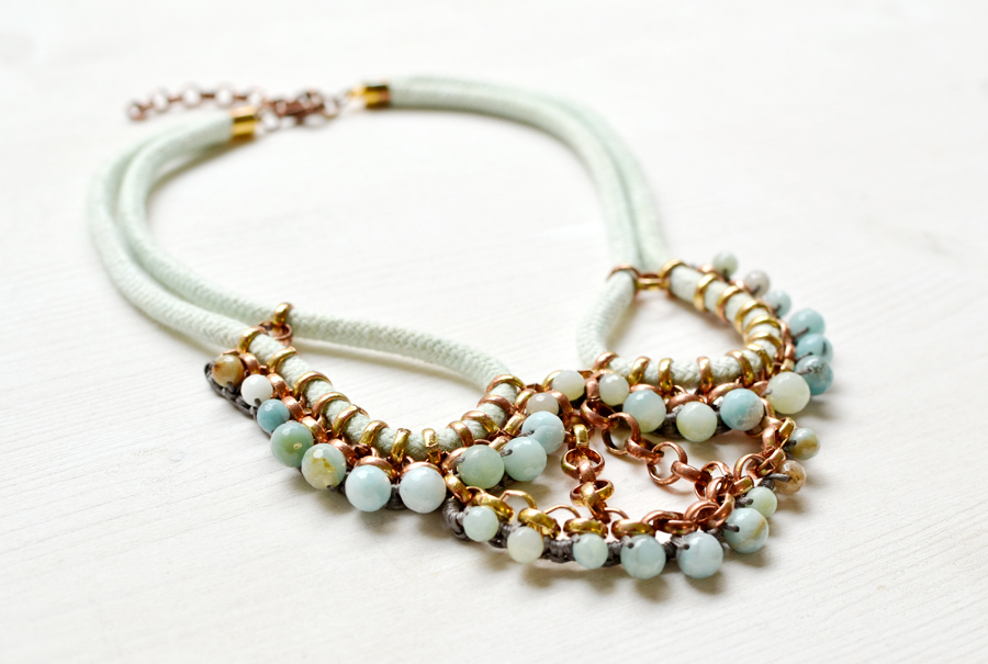 gudbling amazonite necklace