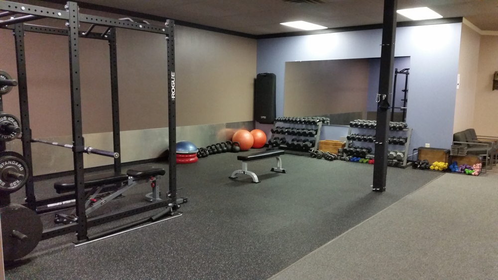 Personal Training Area