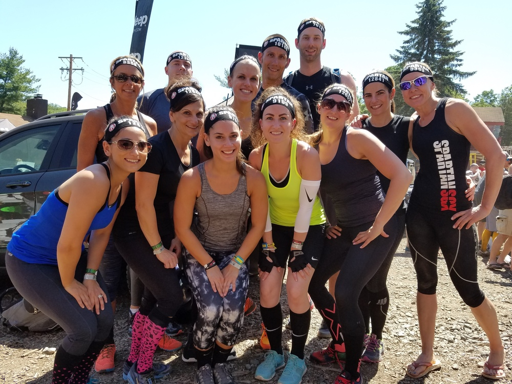 Our First Team Spartan Event.  This crew killed it!