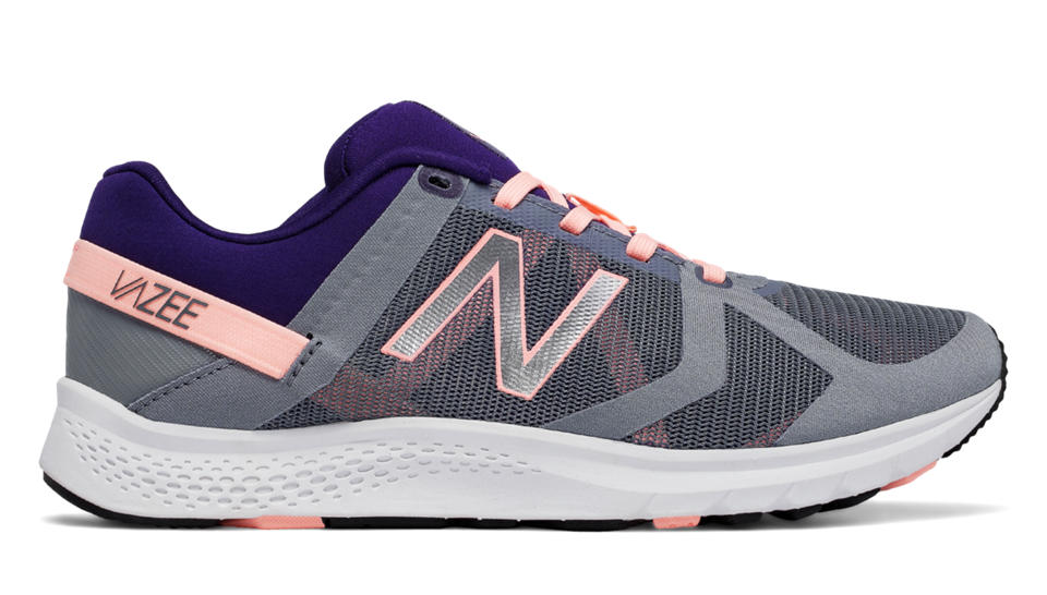 The Vazee is another great option that I fell in love with over the summer and is great for cross-training and light running.  No ultra marathons on this shoe...hahaha.  Perfect for our classes!  http://www.newbalance.com/pd/vazee-transform-mesh-trainer/WX77-M.html?dwvar_WX77-M_color=Grey_with_Bleached%20Sunrise_and_Black%20Plum#color=Grey_with_Bleached%20Sunrise_and_Black%20Plum