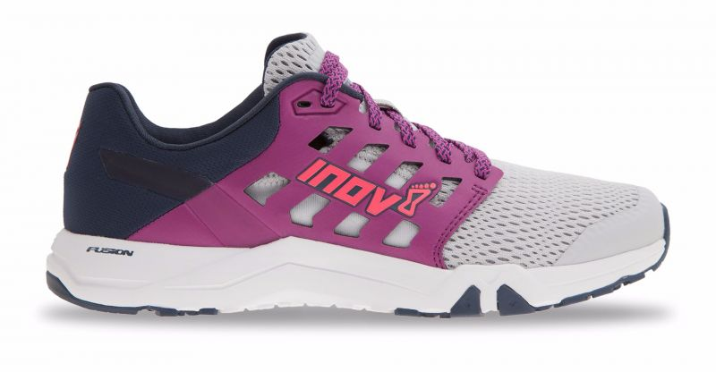 The All Train sneaker from Inov-8 Is great for our Total Body Blast and Obstacle Course classes.  Think high intensity, agility drills, box jumps etc.