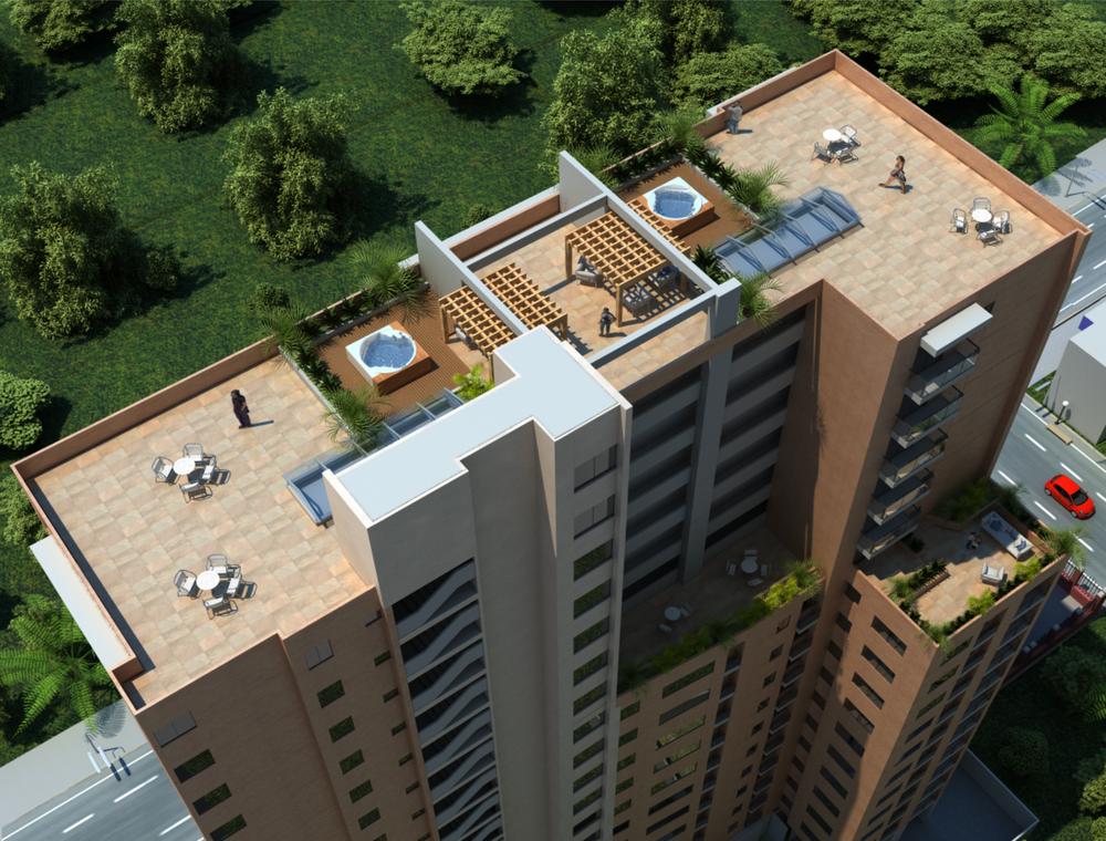 Servicio de Visualización 3d, Edificio Gaia, Conceptos y Proyectos Estratégicos S.A.S.  Rendering Service, Gaia Building, Conceptos y Proyectos Estratégicos S.A.S.