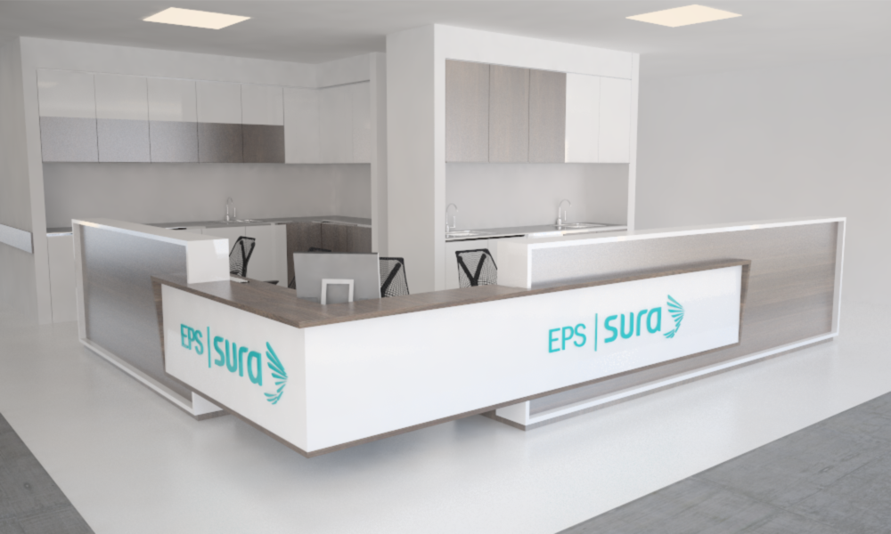 Diseño de mobiliario, Sura EPS, Servex S.A.  Furniture Design, Sura EPS, Servex S.A.