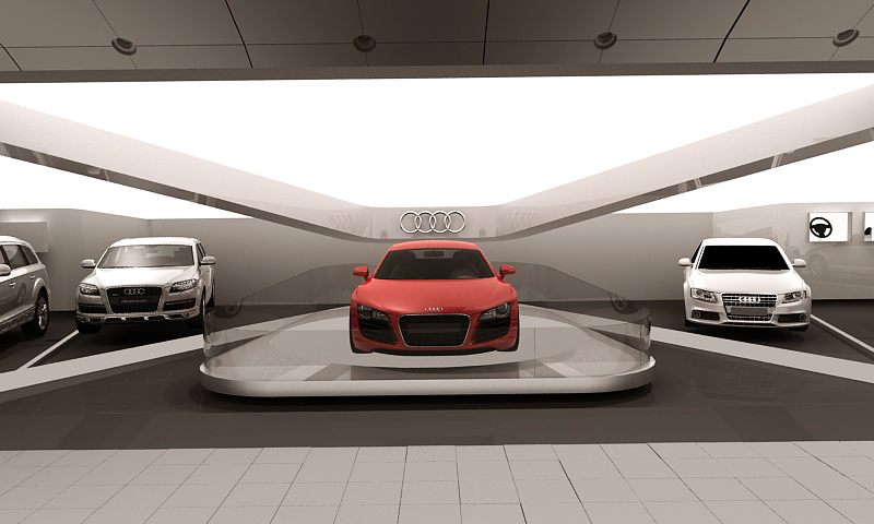 Diseño de Stand, Audi, DLB Group Colombia.  Stand Design, Audi, DLB Group Colombia.