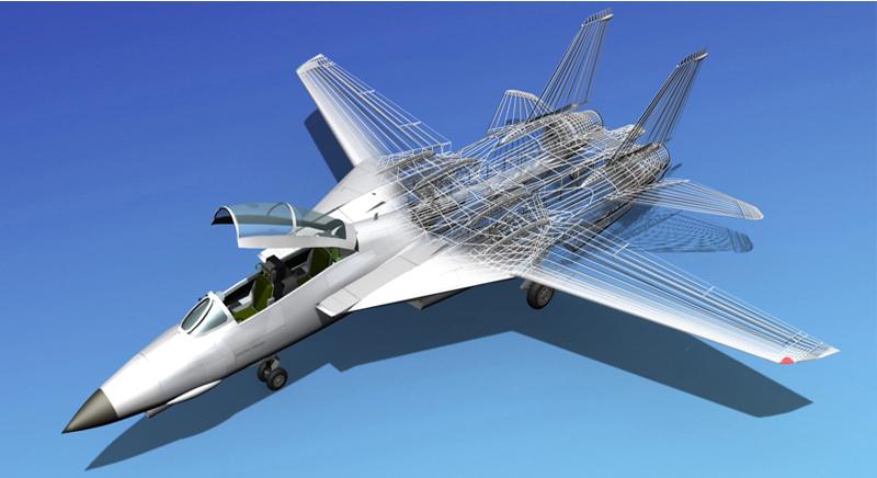 3D Modeling Aircraft