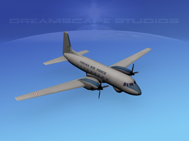 Hawker Siddeley HS748 Low Poly.jpg