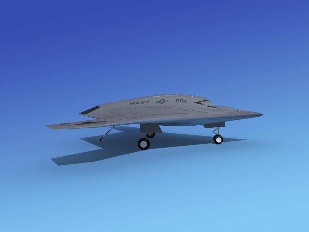 X-47-B UCAS