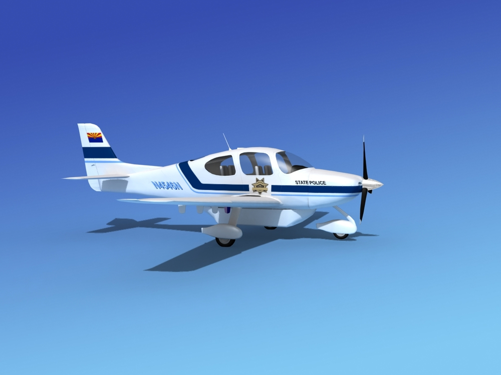 Cirrus SR22 State Police