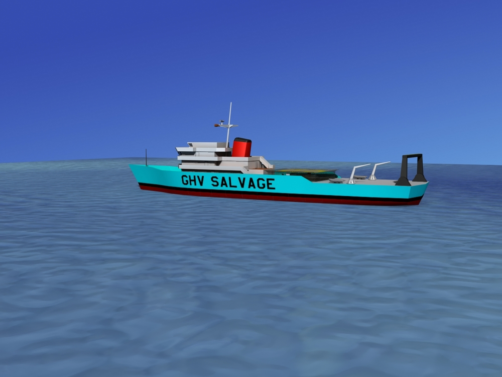 Salvage Ship